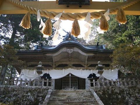 玉置神社(奈良県十津川村)