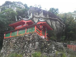 上倉神社の磐座