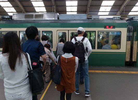江ノ電藤沢駅20161008