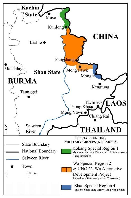 ビルマのカチン州・シャン州での...
