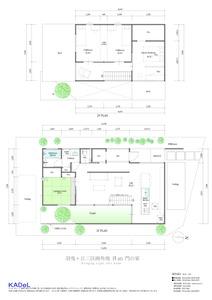 門の家:平面-1
