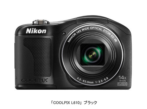 COOLPIX L610_black