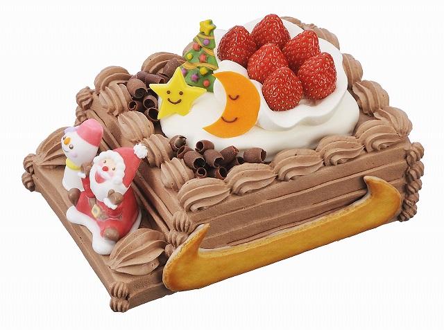 ソリに乗ってお届ケーキ!!