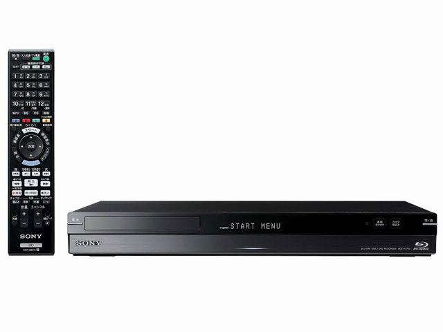 sony_00 今週の家電最安値情報は、「売れ筋NO.1」のブルーレイ・DVDレコーダー。 SO
