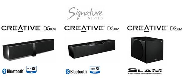 Creative Dxm Signatureシリーズ