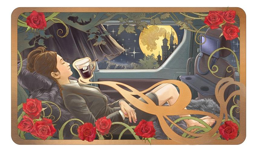 眠れる森の美女タクシー