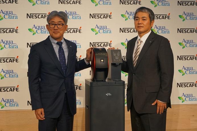 ネスレとアクアクララが業務提携