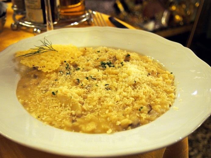 イタリア料理の定番リゾット