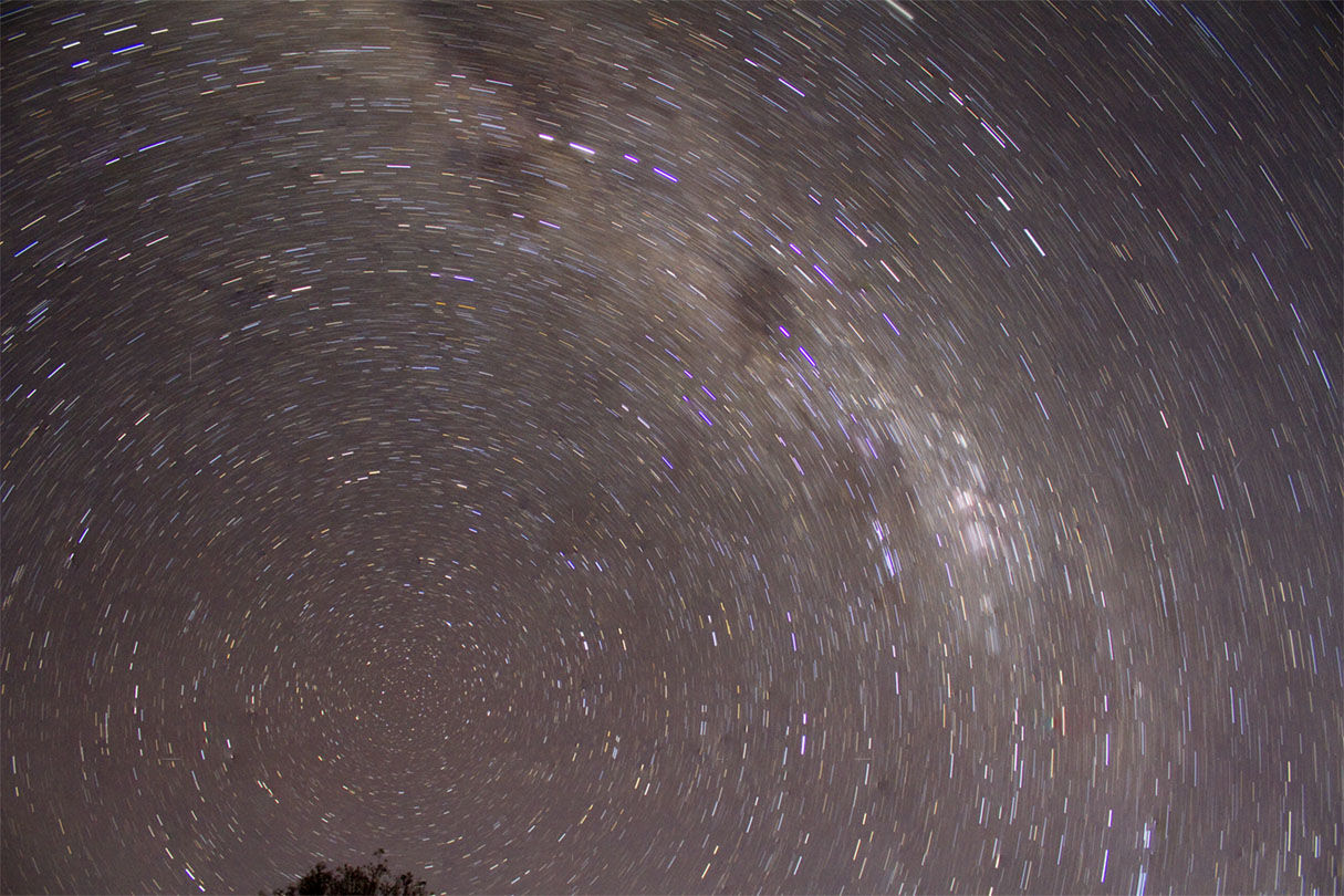 merged startrail
