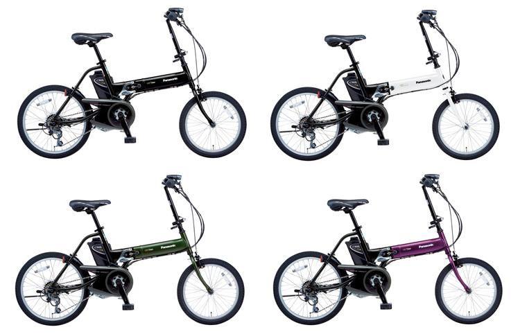 電動自転車 パナソニック 電動自転車 折りたたみ : ... 折りたたみ式電動アシスト