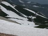 DSCN2826 残雪とスカイライン