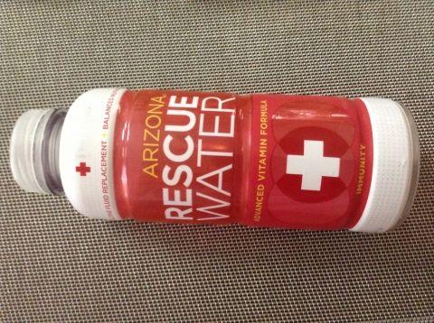 RESCUE Water  と ガーリックシュリンプ