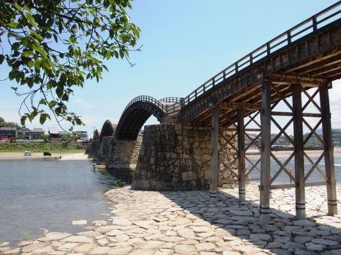 山口県・岩国市 錦帯橋へ行ってみました