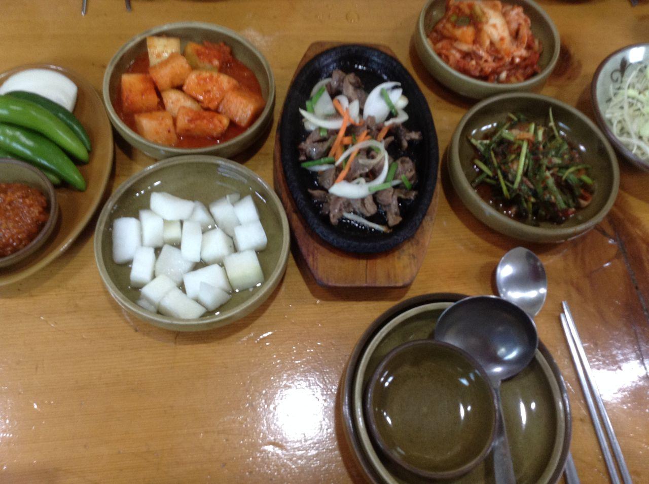 蔚山(ウルサン)昼飯
