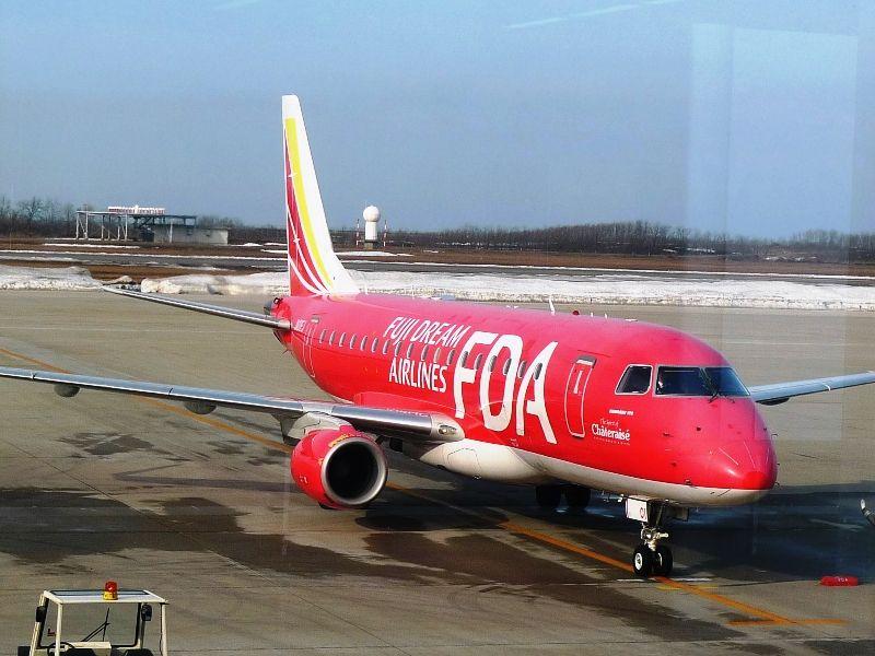 新潟空港で、、