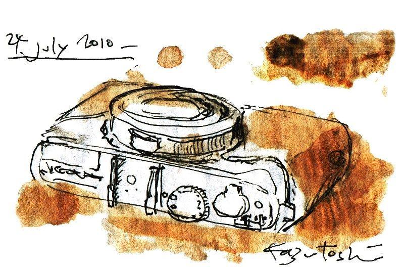 カメラと版画
