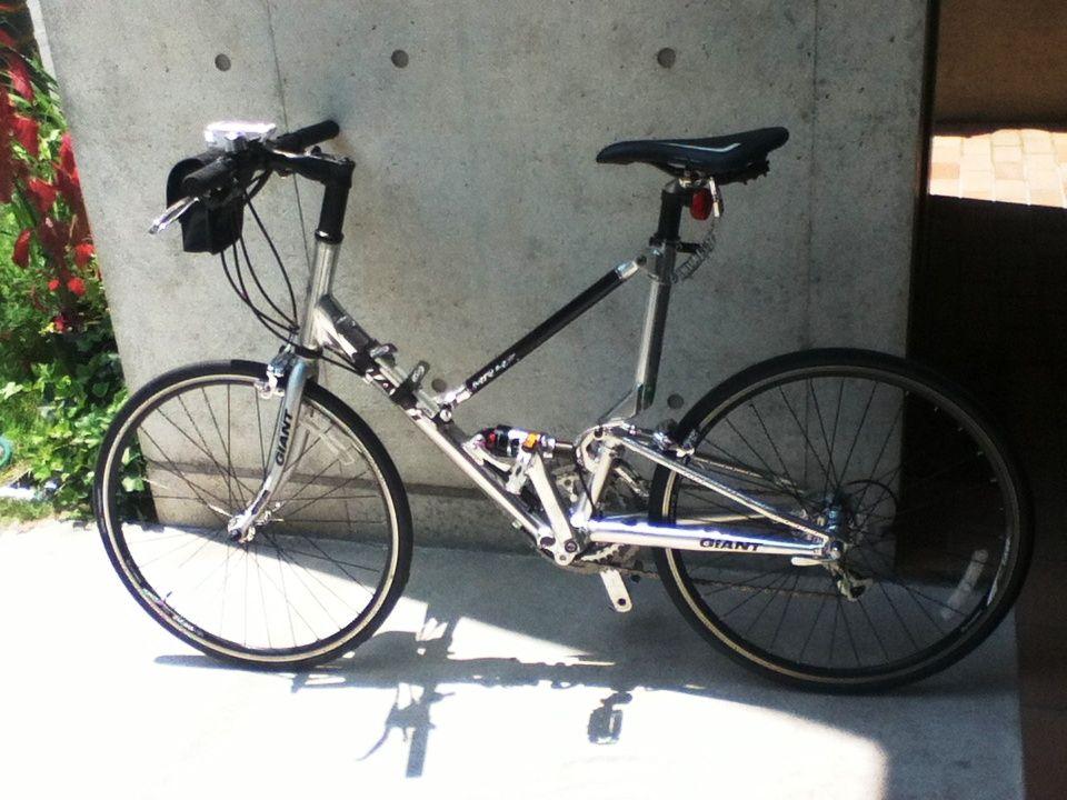 自転車ですけど・・・・