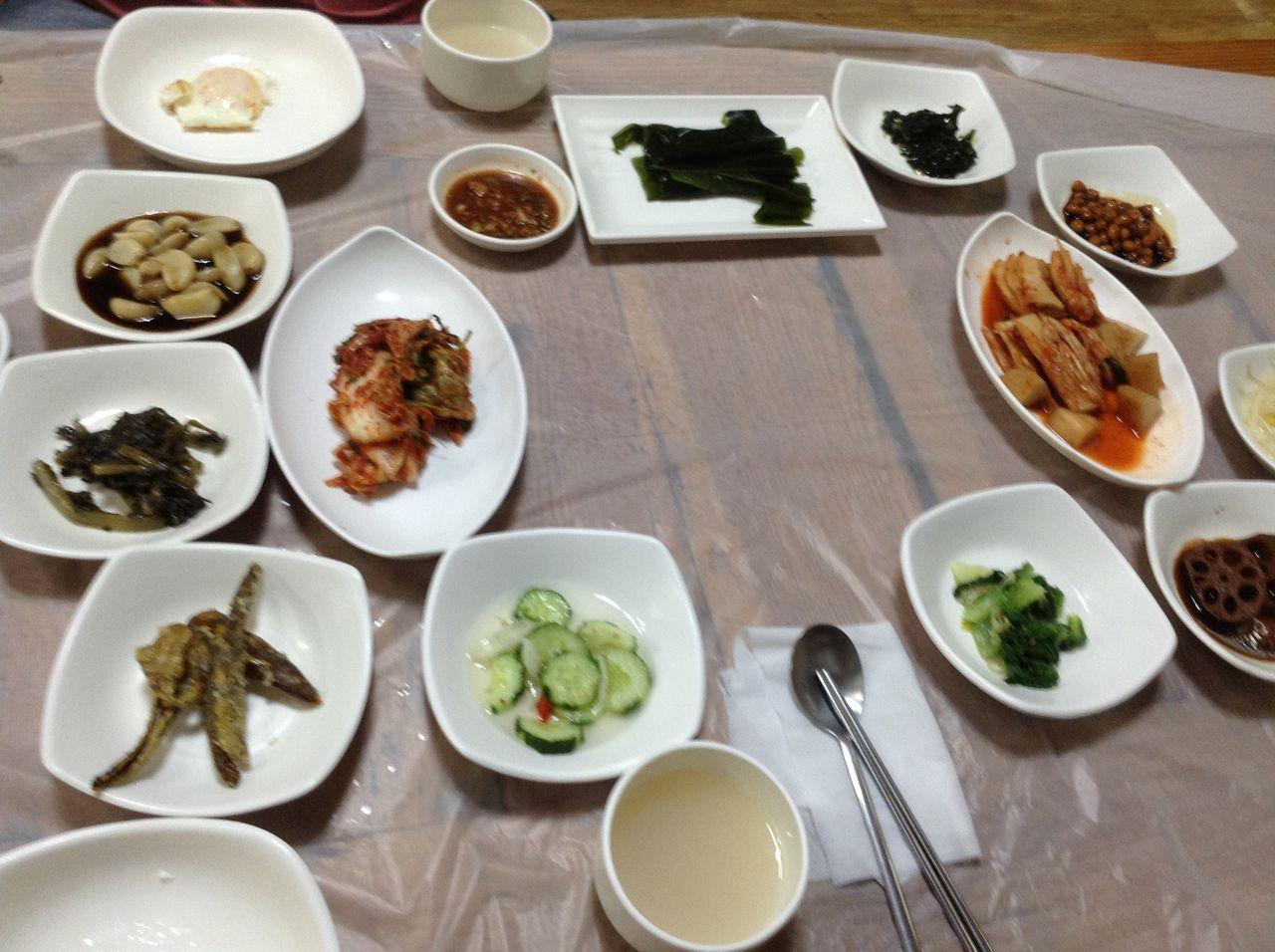 蔚山、、二度目の昼食