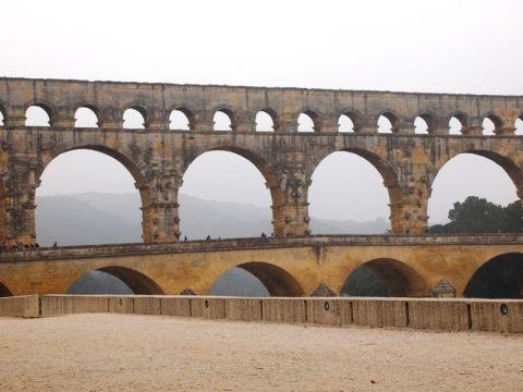 古代ローマ時代の水道橋ポン・デュ・ガール Vol. 9