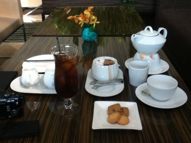 釜山 海雲台でお茶