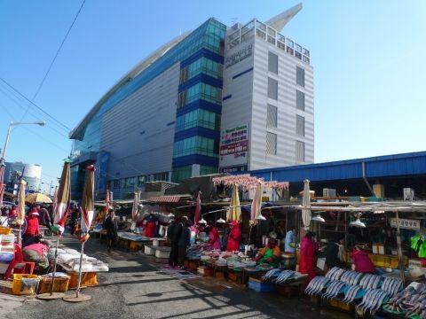釜山 チャガルチ市場