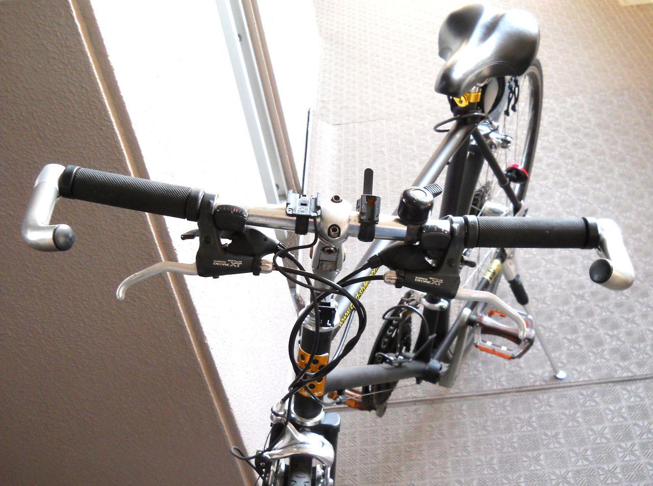 自転車の 自転車 ステム 角度 : 加の 自ずからテンテン転がる ...