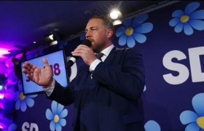 スウェーデン総選挙 極右政党躍進