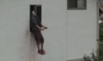 犯行後窓から飛び降り ナカダ容疑者