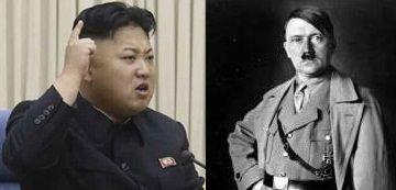 金正恩とヒトラー
