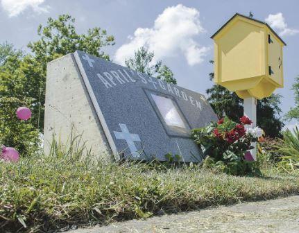 エイプリルちゃんの墓