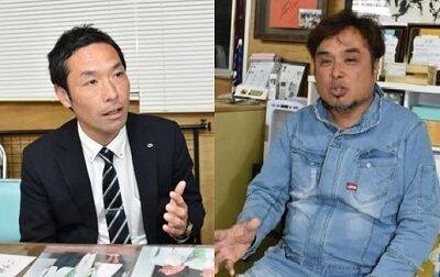 ヤマト運輸大城さん与佐ヱ門・田中さん  (1)