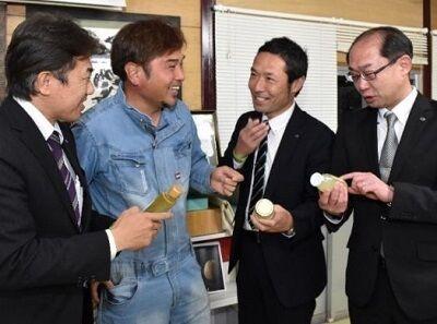 ヤマト運輸大城さん与佐ヱ門・田中さん