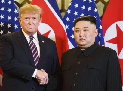 米朝首脳対談 ハノイ
