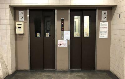 芝園団地エレベーター