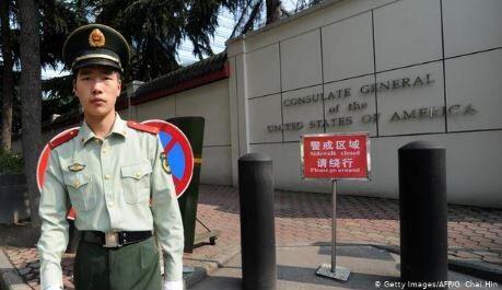 成都 アメリカ総領事館閉鎖