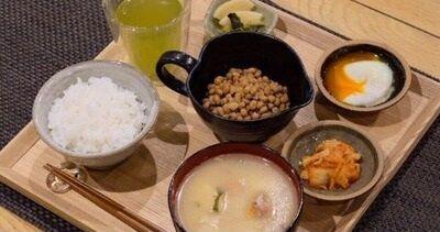 納豆ご飯定食