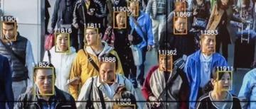 顔認証システムで監視