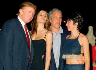 トランプ大統領、メラニア夫人、エプスタイン、ギレーヌ