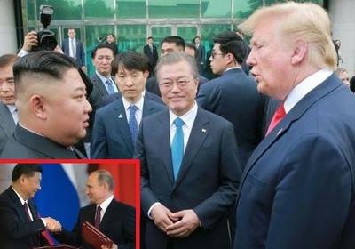 習近平、金正恩、文在寅 トランプ大統領