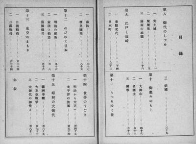『初等科国史 上・下』昭和18年発行