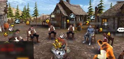 オンラインゲーム「人狼殺」