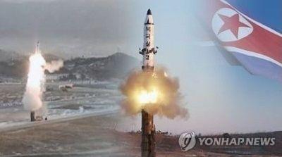 北朝鮮、ミサイル発射
