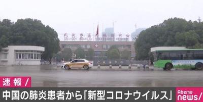 新型コロナウイルス 武漢肺炎
