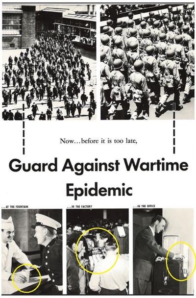 公衆衛生向上を奨励するポスター1940