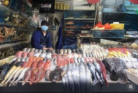 コロナウイルス検出 中国・新初地市場
