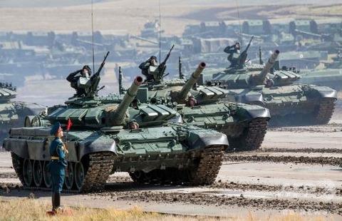 ロシア史上最大の演習