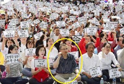 チョ・グク法相の辞任求め大規模集会