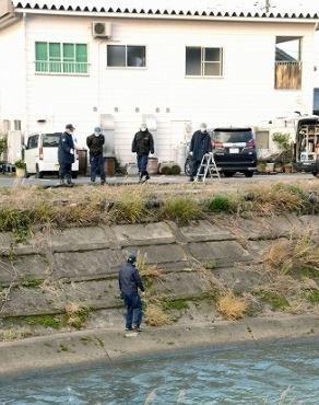 吉野瀬川沿いの駐車場