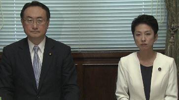 自民党・岡田参院幹事長代行 立憲民主党・蓮舫参院幹事長