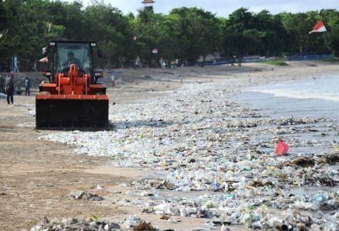バリ島、ゴミ